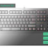 Infomationen durch High-End Tastatur