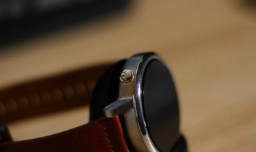 Moto 360 2. Gen Smartwatch Test
