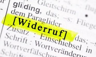 Widerrufsrecht Ratenkauf – 14 Tage Widerrufsrecht kommt in die Geschäfte!