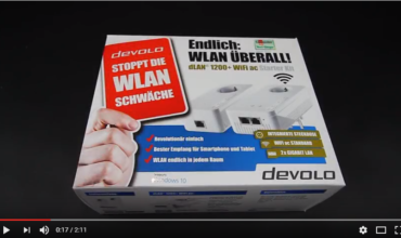 Devolo WLAN 1200+ WiFi Starterkit  How-To-Video
