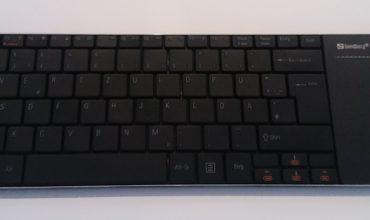 Im Test: Bluetooth Touchpad Keyboard von Sandberg