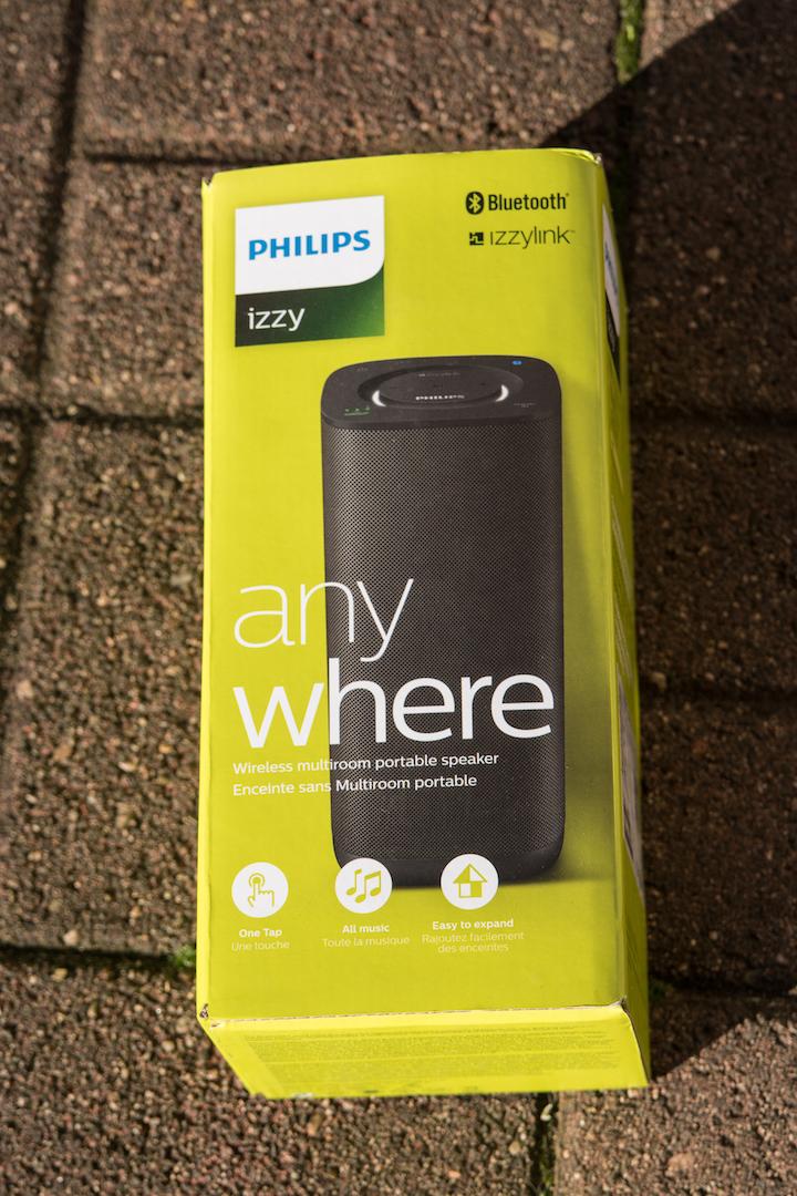 Im Test: Philips izzy BM6 Multiroom-Lautsprecher