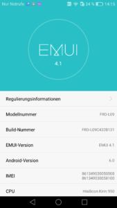 Honor 8 - EMUI 4.1