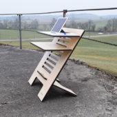 Gegen Rückenschmerzen: Der Steh-Schreibtisch von Standsome