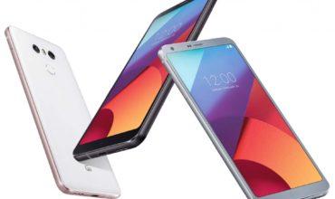 LG G6: Vorbestellung möglich
