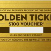 Sony Gold Ticket