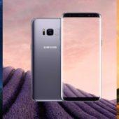 Samsung Galaxy S8 und Galaxy S8+: Mit Echtgold verziert verfügbar