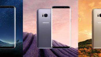 Samsung S8 Launcher auf dem Galaxy S7