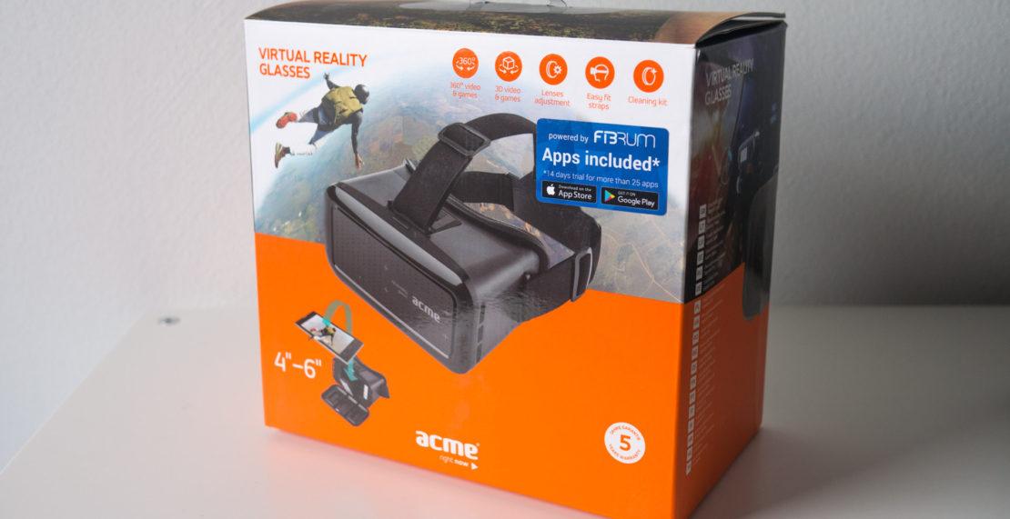 Im Test: ACME VRB01 Virtual Reality Glasses