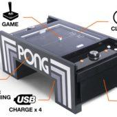 Kickstarter-Erfinder bringen PONG auf den Tisch