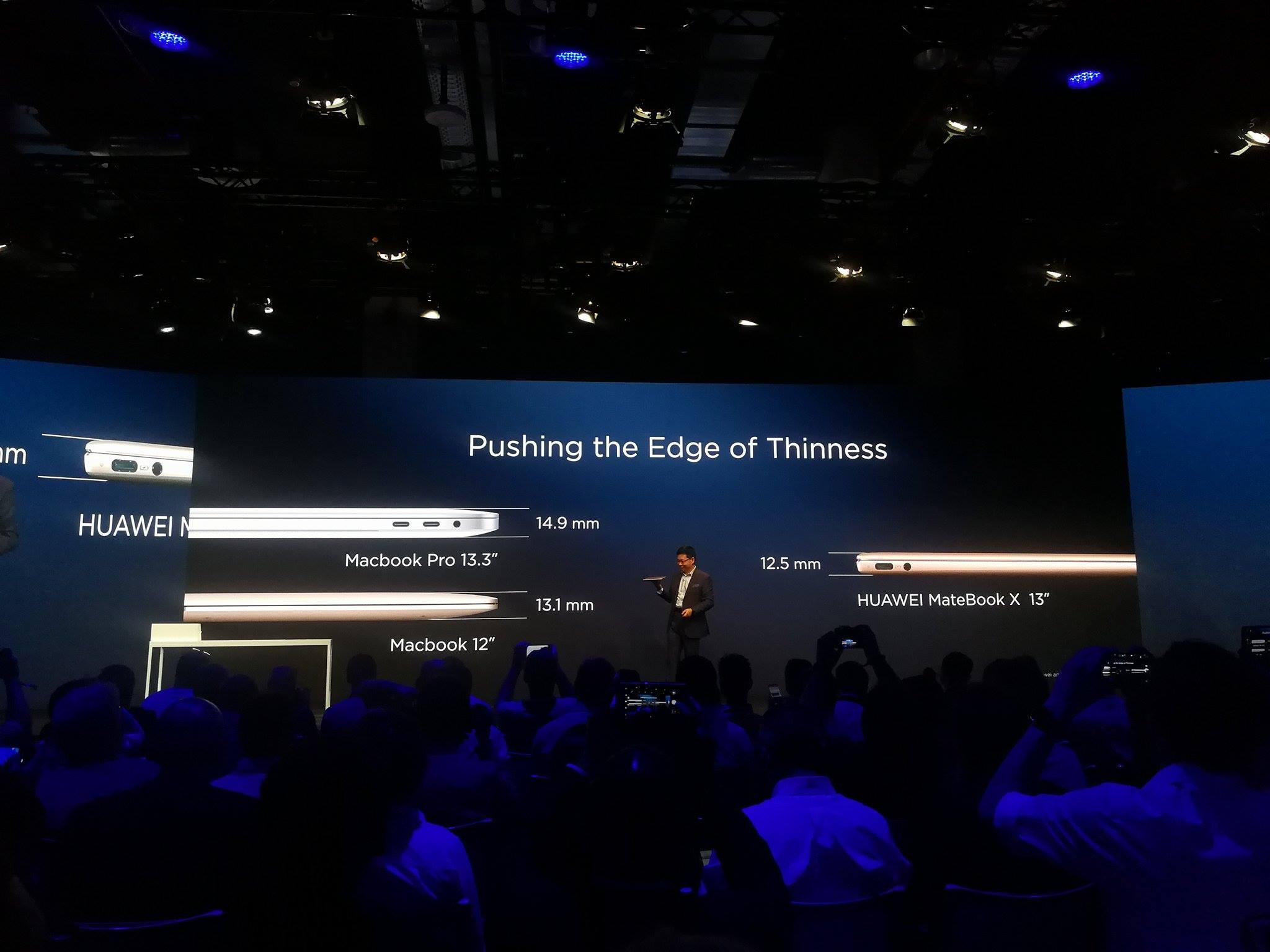 Huawei präsentiert: Matebook D,E & X