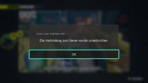 ARMS Disconnect Screenshot