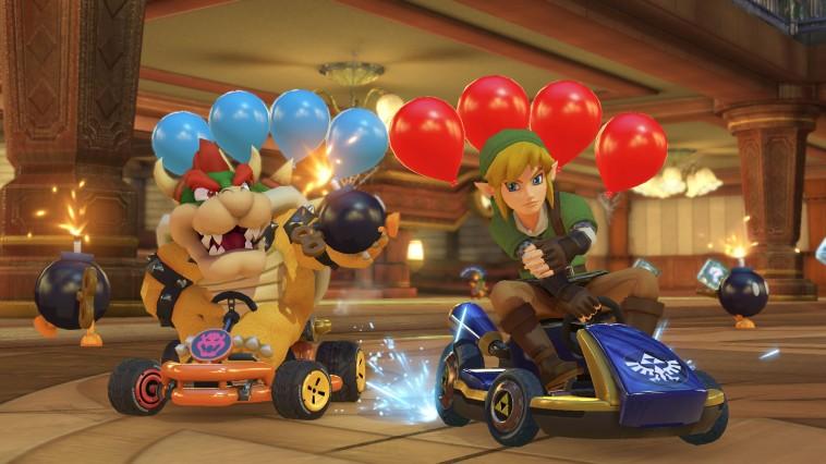 Angeschaut Mario Kart 8 Deluxe Techniktest Online