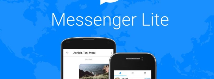 Facebook Messenger Lite nun auch in Deutschland verfügbar!