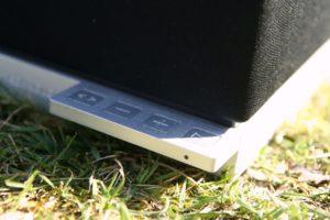 Speaker Control Bar