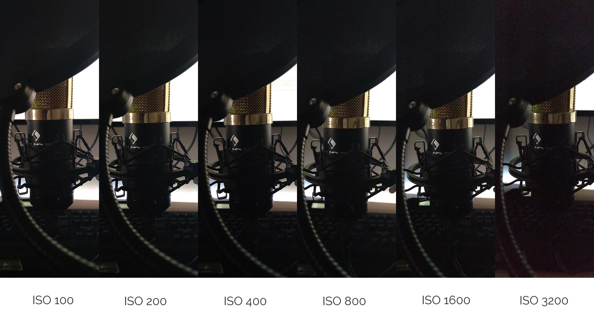 Low Light Test - ISO Rauschverhalten