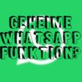 Geheime WhatsApp Funktion?