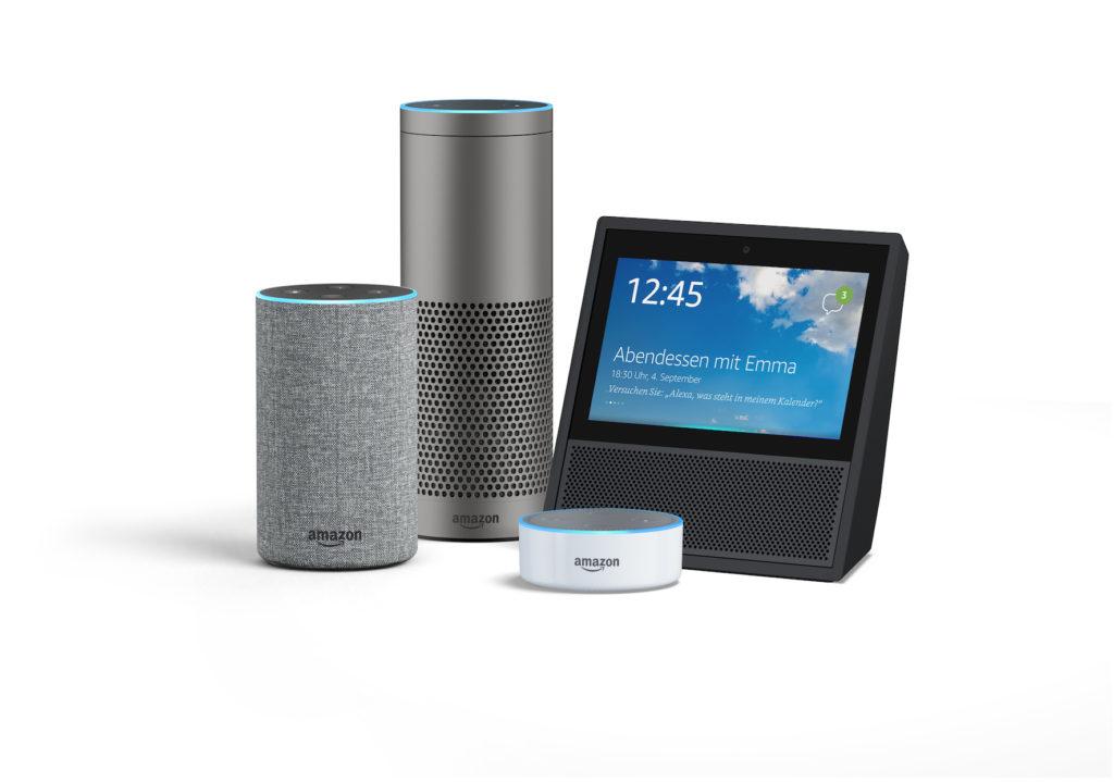 Amazon Alexa - Eine große Familie