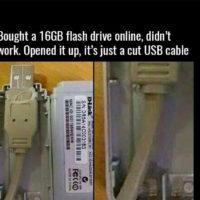 USB-Stick Betrug