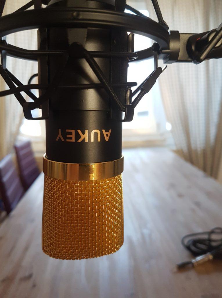 Aukey GD-D1 - Günstiges Kondensatormikrofon