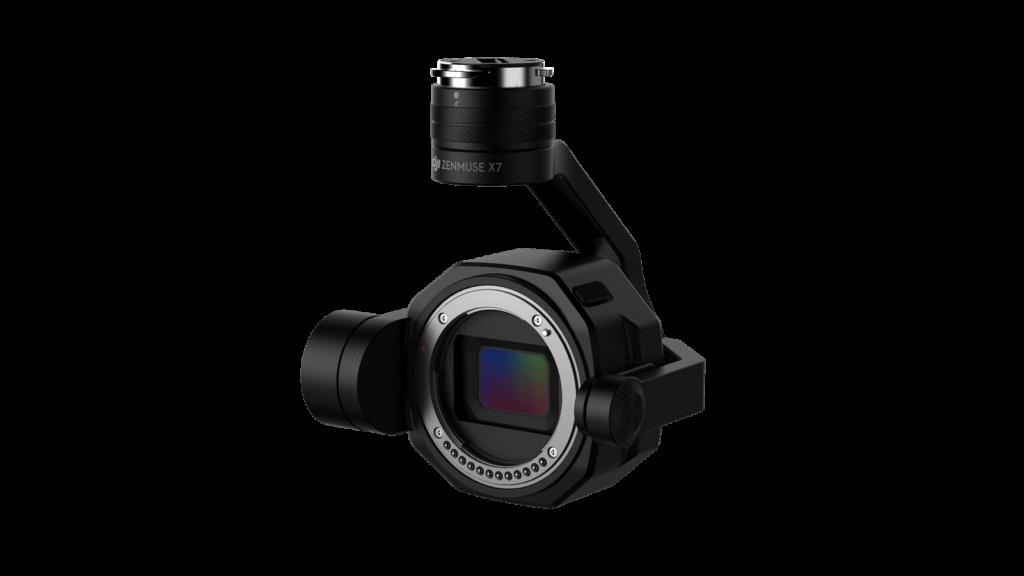 DJI X7 - Der neue Mount der Drohnenkamera erfordert besondere Objektive