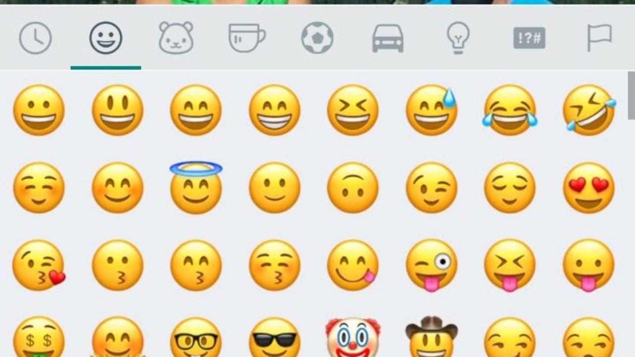 Whatsapp alte Smileys und Emojis wiederherstellen