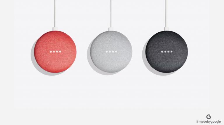 Google Home Mini - Erhältlich in 3 Farben