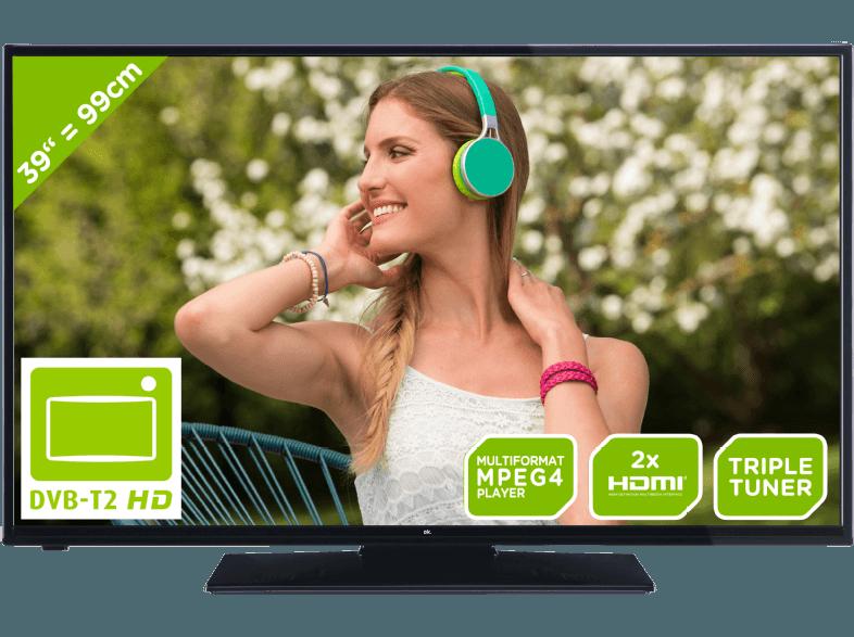 Im Test: Der ODL 39650-TB TV von ok.