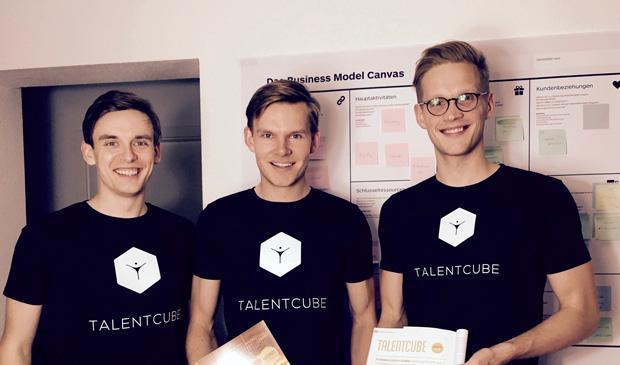 Wollen das Bewerben einfacher wird - Hendrik Seiler, Sebastian Niewöhner und Sebastian Hust