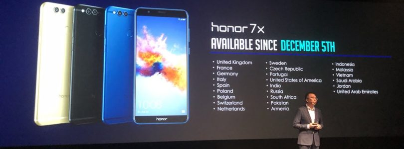 Neue Smartphones 7X und View 10: Well played, Honor!