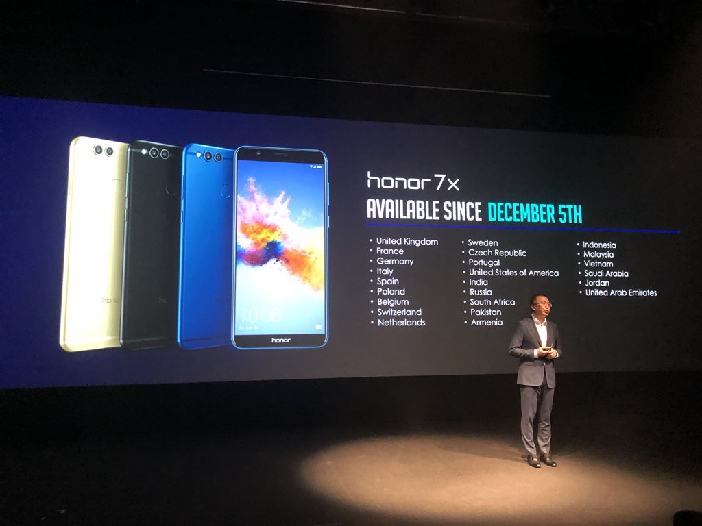 Neue Smartphones 7X und View 10: Well played, Honor!