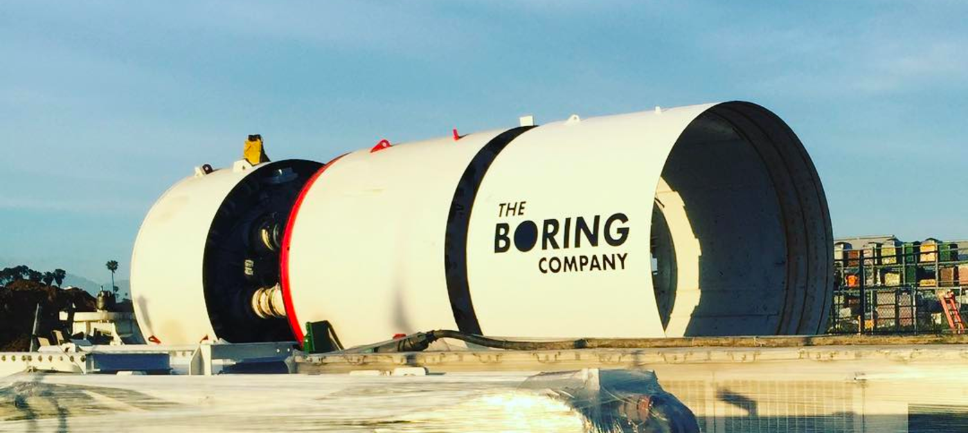 The Boring Company Borer