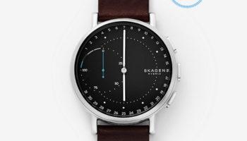 Smartwatch mit physischem Ziffernblatt – die Skagen Hagen Connected