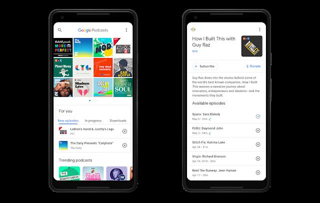 Google Podcasts-App