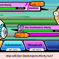 Pocket Mortys – Das Smartphone Game zur Serie!