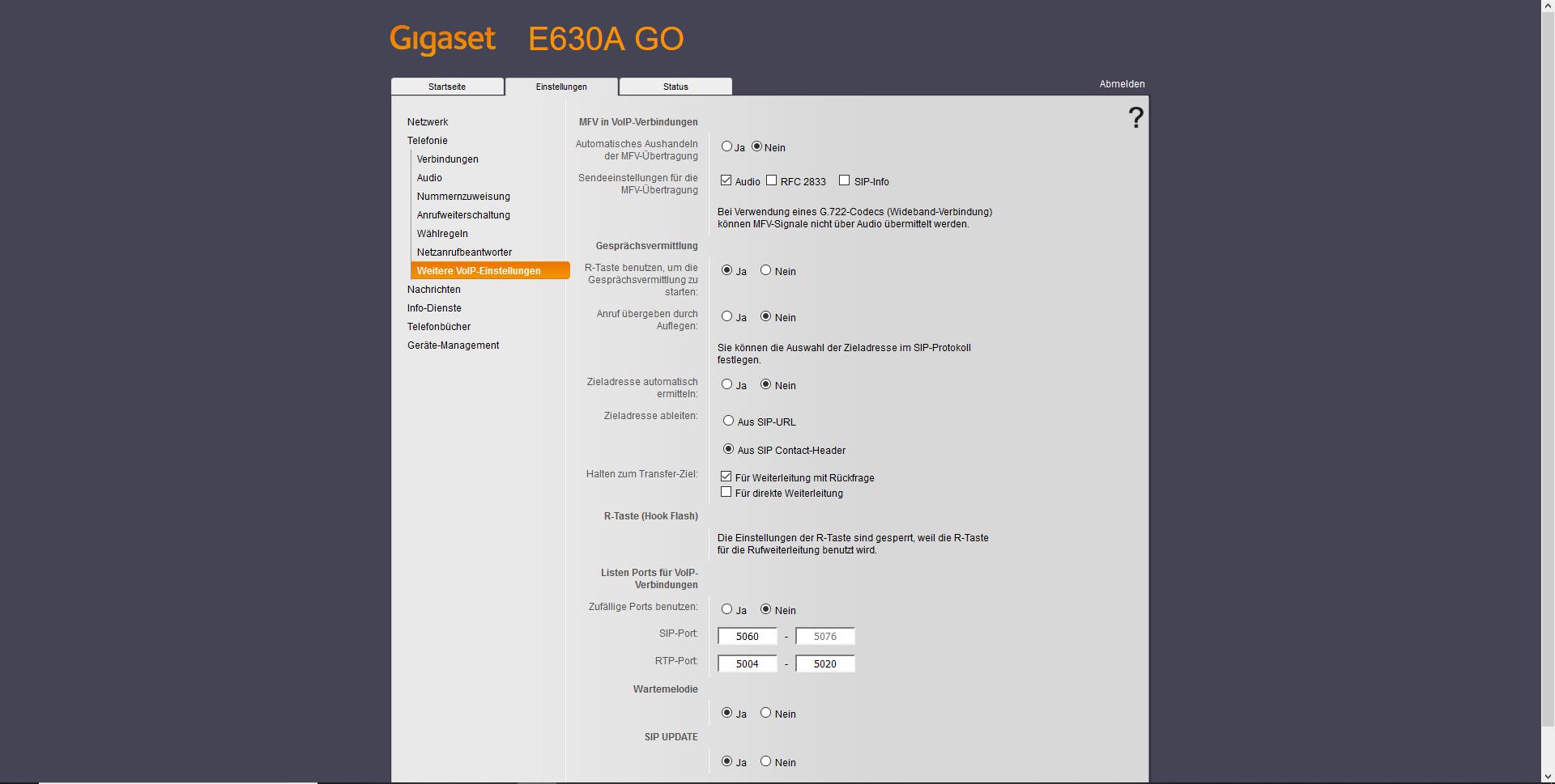 Gigaset E630A GO