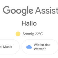 Google Assistant Übersicht