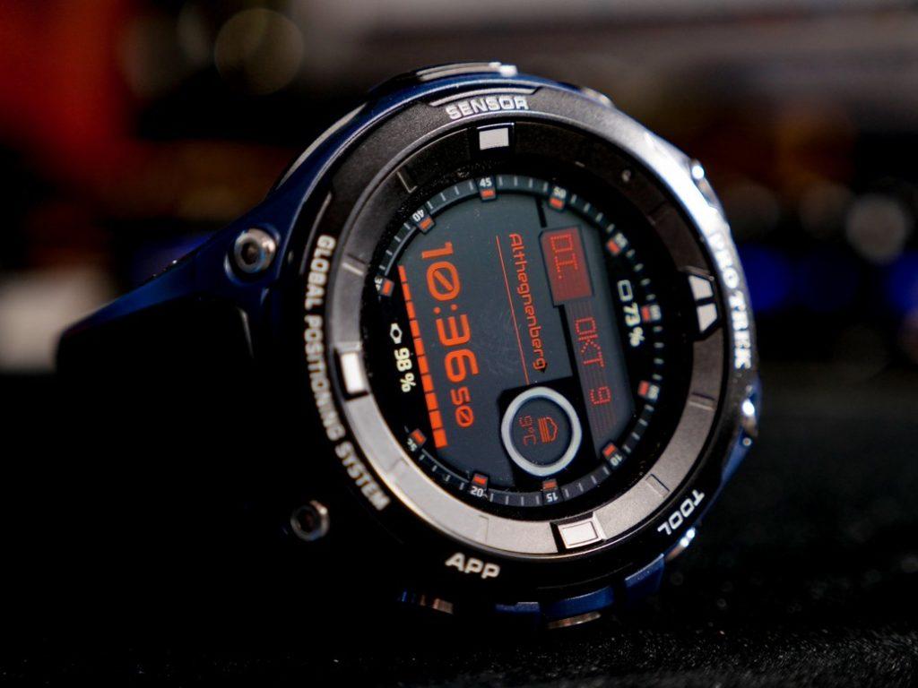 Smartwatch für alle die keine Rücksicht auf ihre Smartwatch nehmen.