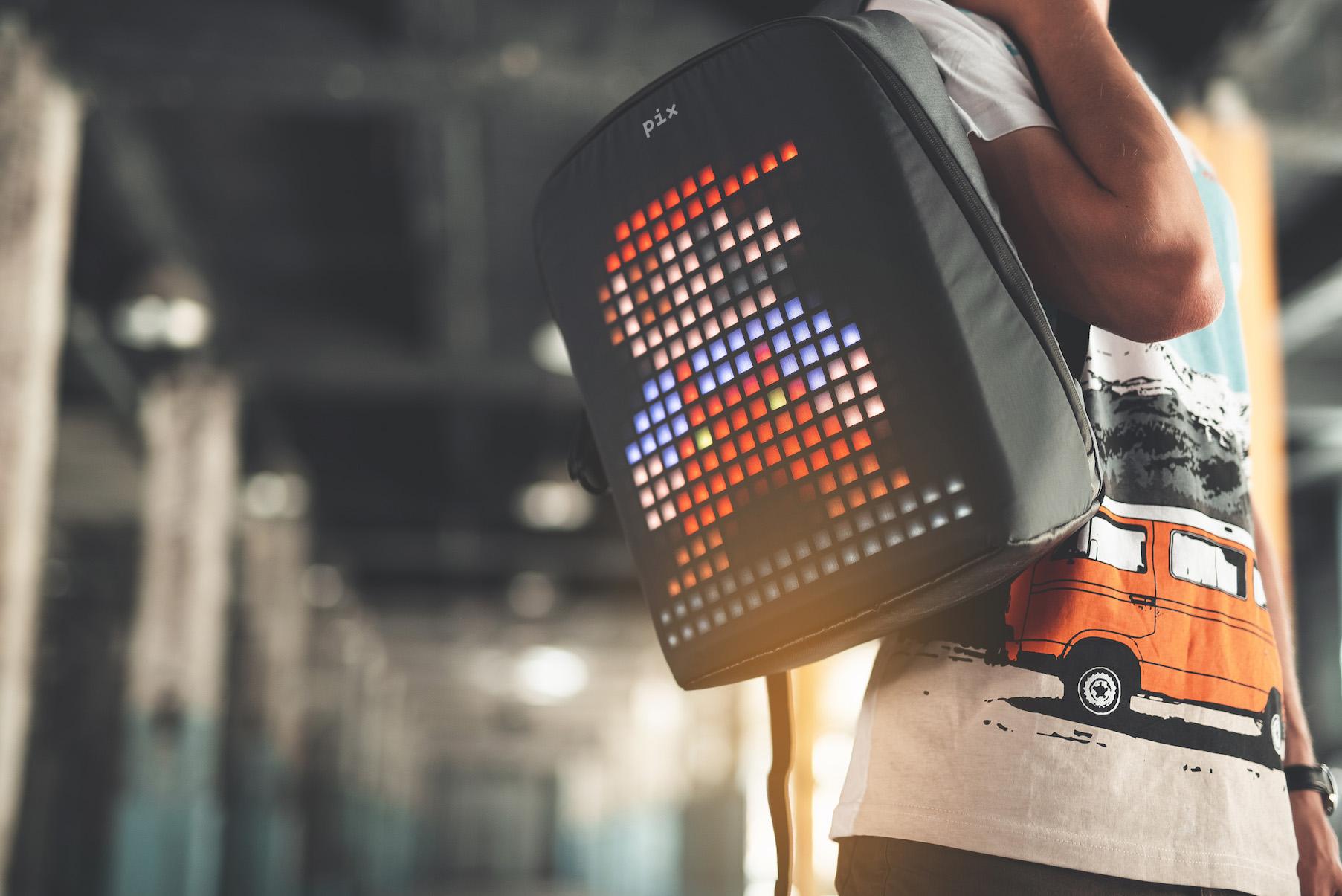 Pix: The Backpack wenn das Rücklicht mal kaputt ist