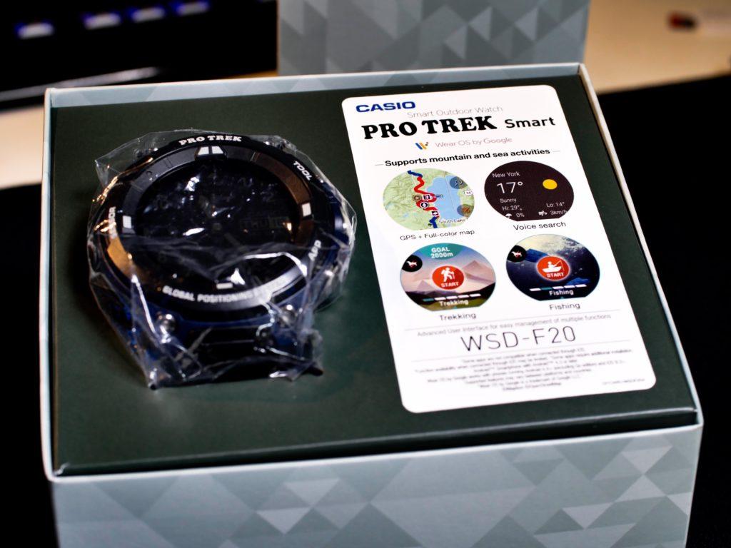 Die Casio Pro Trek in ihrer Originalen Verpackung