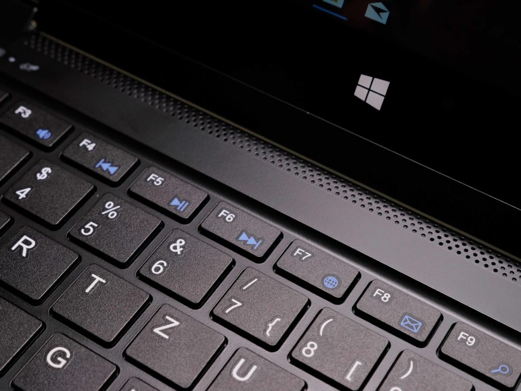 Die Tastatur verfügt über alle gängigen Mutimedia Taseten
