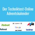 Gewinnspiel: Der Techniktest-Online Adventskalender 2018