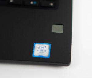Dell Latitude Fingerabdrucksensor