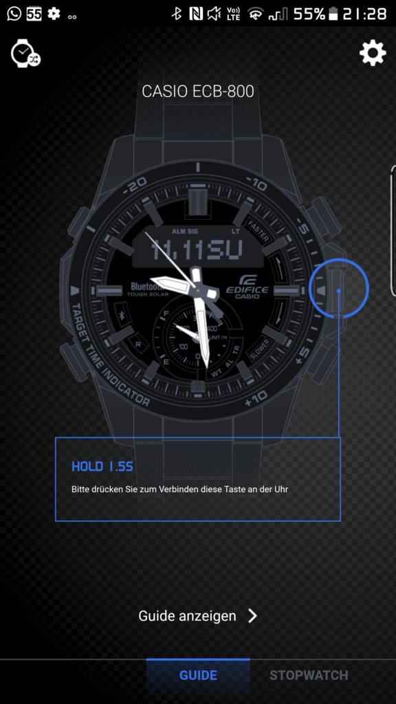 Cooles Design, aber mit versteckten Schaltflächen und Bugs: Die App.