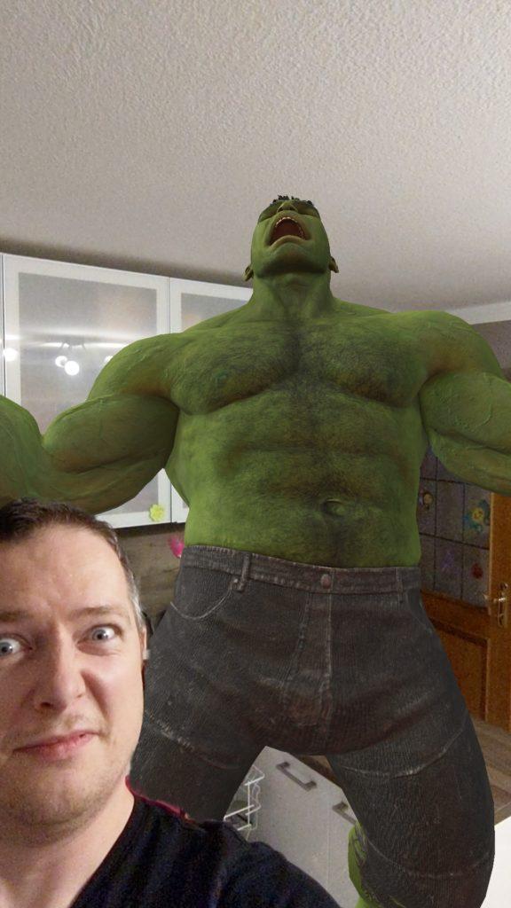 Der Hulk in der eigenen Küche? Passiert. Mit Google Playground!