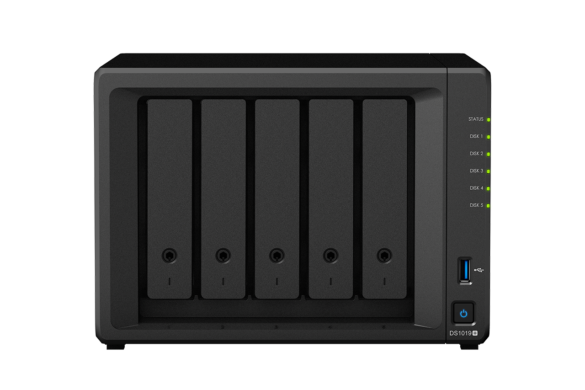 Die beste Home-Cloud NAS im Test: Die Synology 1019+