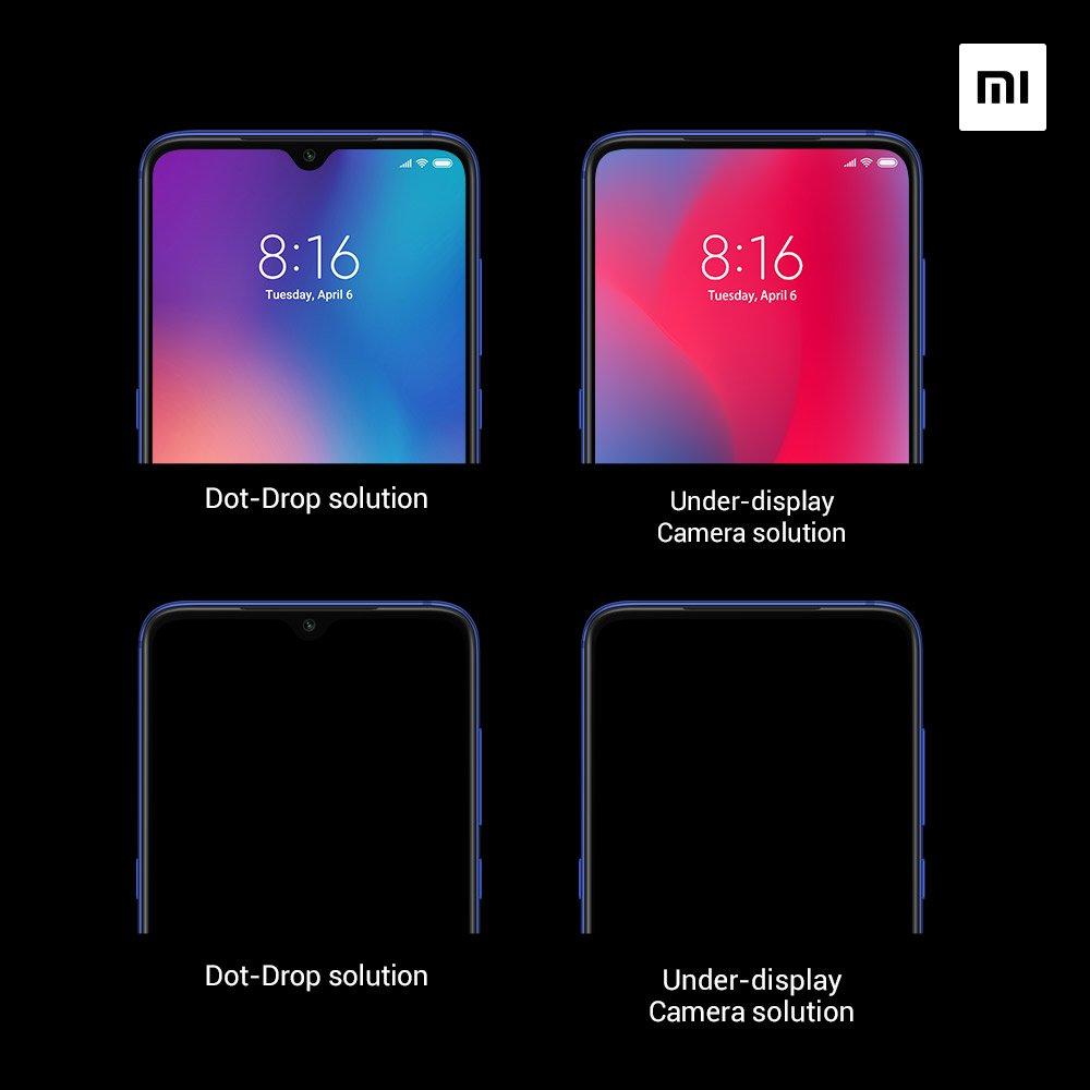 Ist das die Zukunft des Smartphones? Xiaomi und Oppo zeigen die ersten Frontkameras im Display