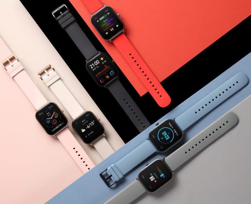 Huami-Amazfit-Smartwatch-GTS-Farben