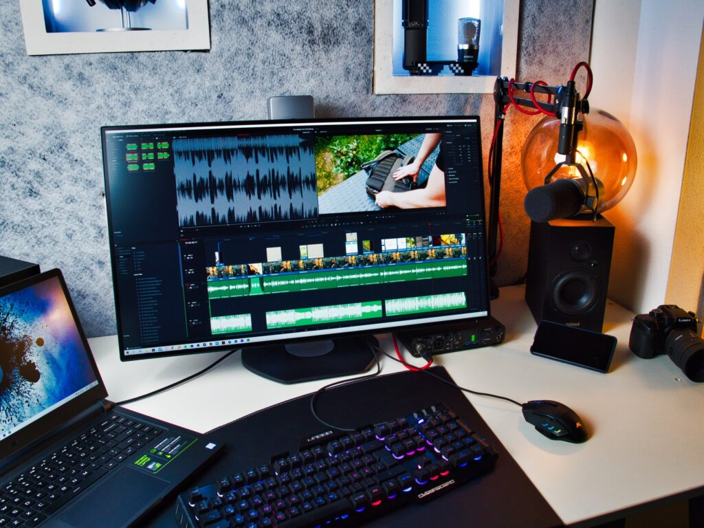 Video editing mit dem Philips Brilliance 329P9